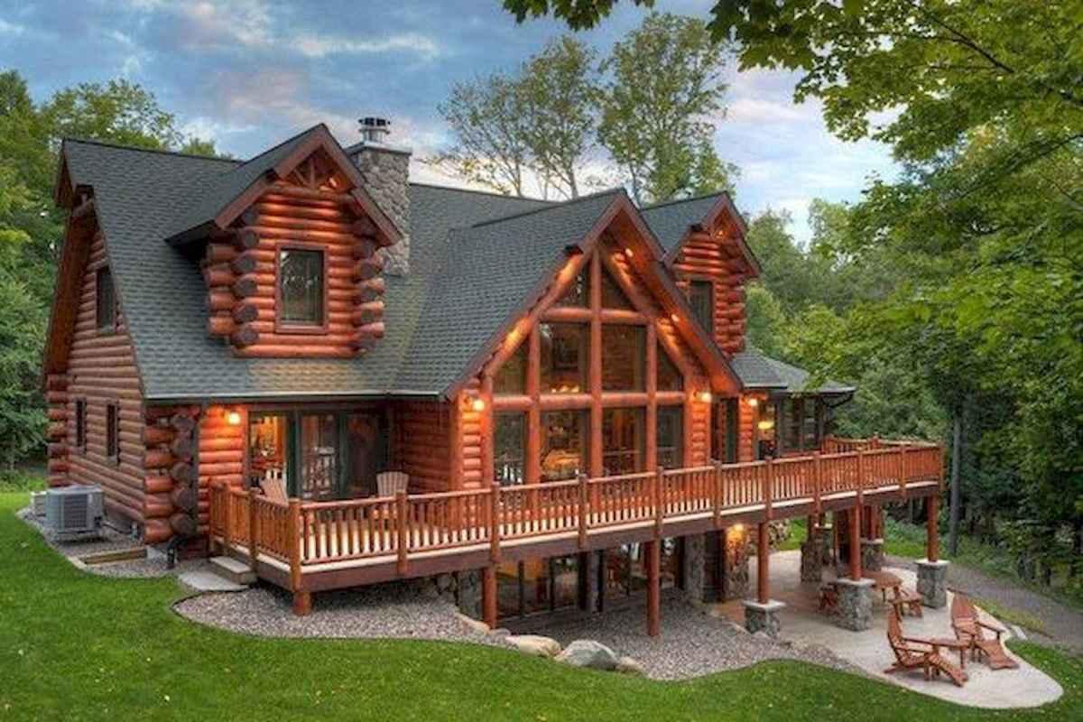 75 Best Log Cabin Homes Plans Design Ideas (33)