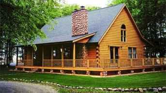 75 Best Log Cabin Homes Plans Design Ideas (34)