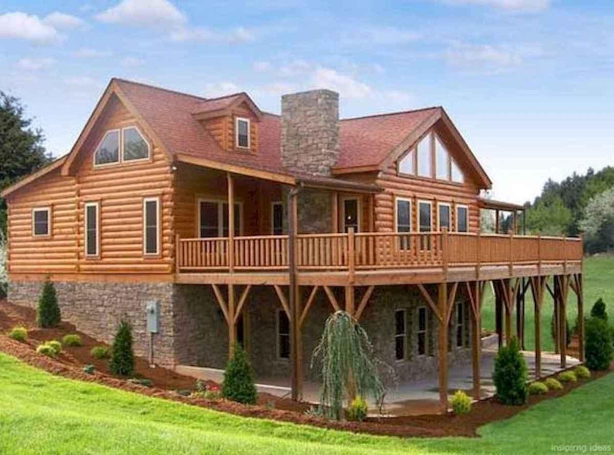 75 Best Log Cabin Homes Plans Design Ideas (42)