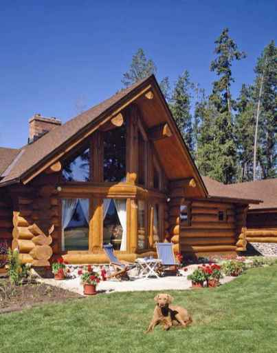 75 Best Log Cabin Homes Plans Design Ideas (48)