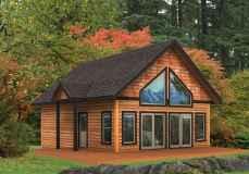 75 Best Log Cabin Homes Plans Design Ideas (50)