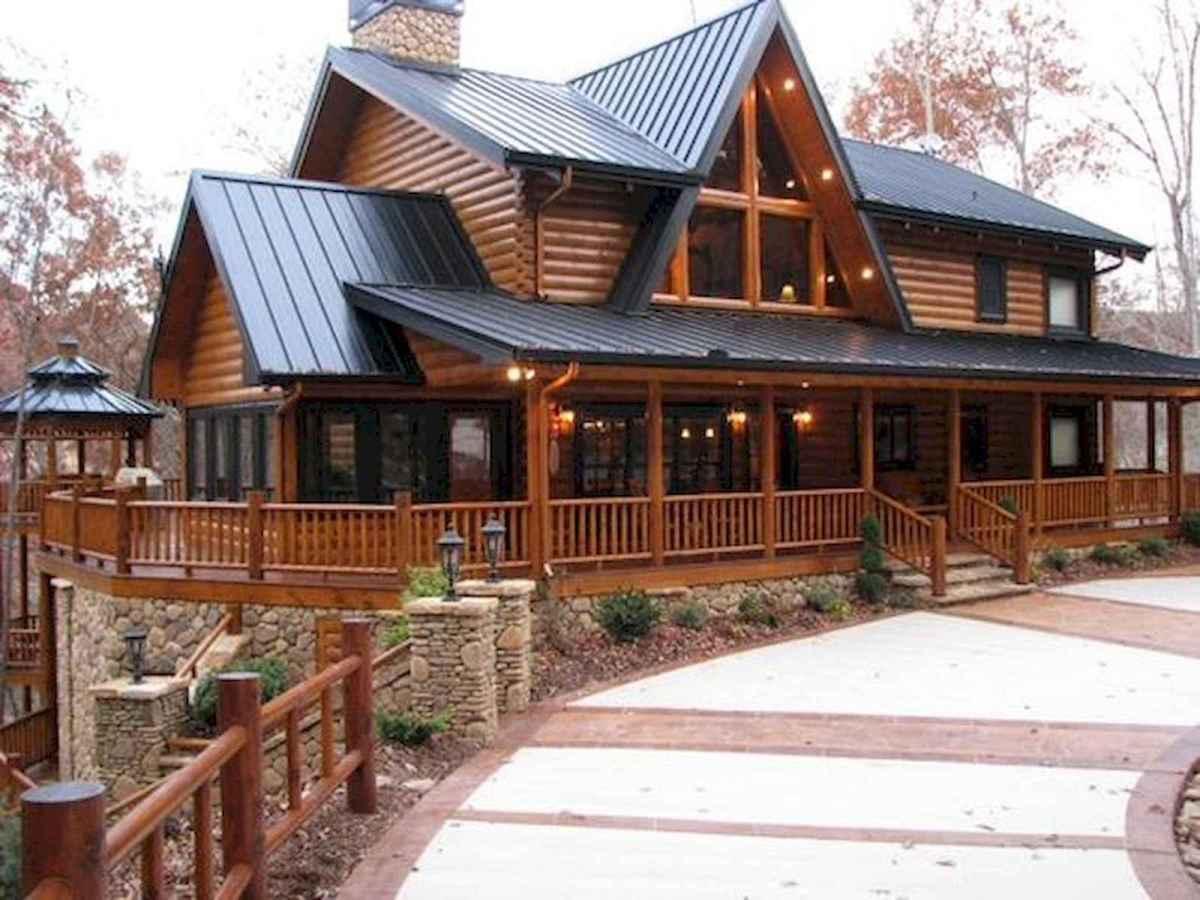 75 Best Log Cabin Homes Plans Design Ideas (51)