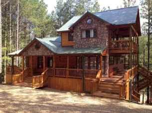 75 Best Log Cabin Homes Plans Design Ideas (65)