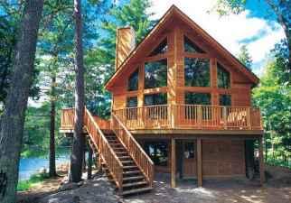 75 Best Log Cabin Homes Plans Design Ideas (67)