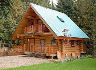 75 Best Log Cabin Homes Plans Design Ideas (68)