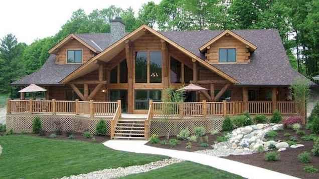75 Best Log Cabin Homes Plans Design Ideas (75)