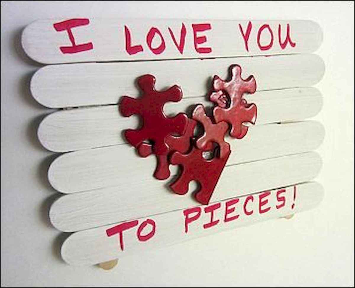 75 Romantic Valentines Day Crafts Design Ideas (56)
