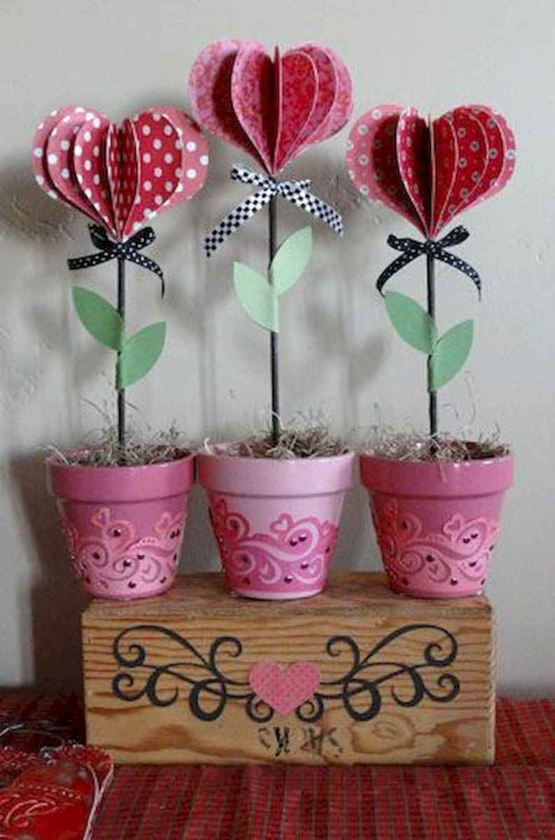 75 Romantic Valentines Day Crafts Design Ideas (66)