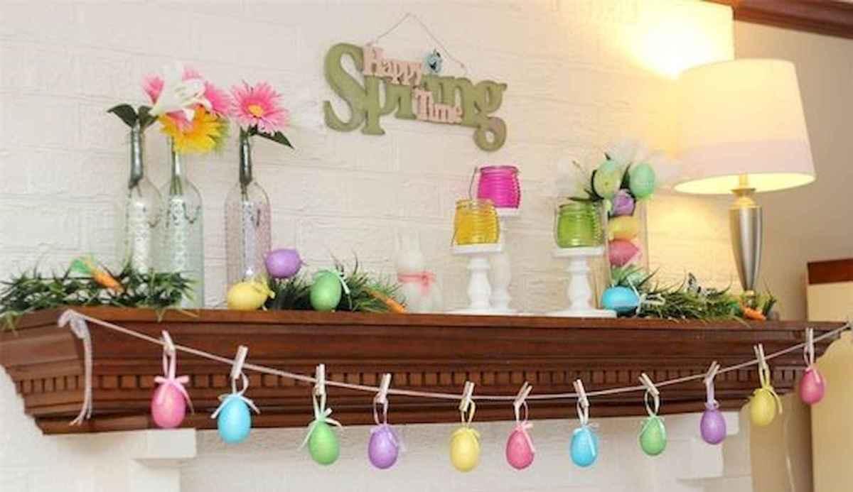 35 Best Easter Fireplace Mantle Decor Ideas (13)