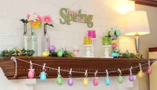 35 Best Easter Fireplace Mantle Decor Ideas (13)