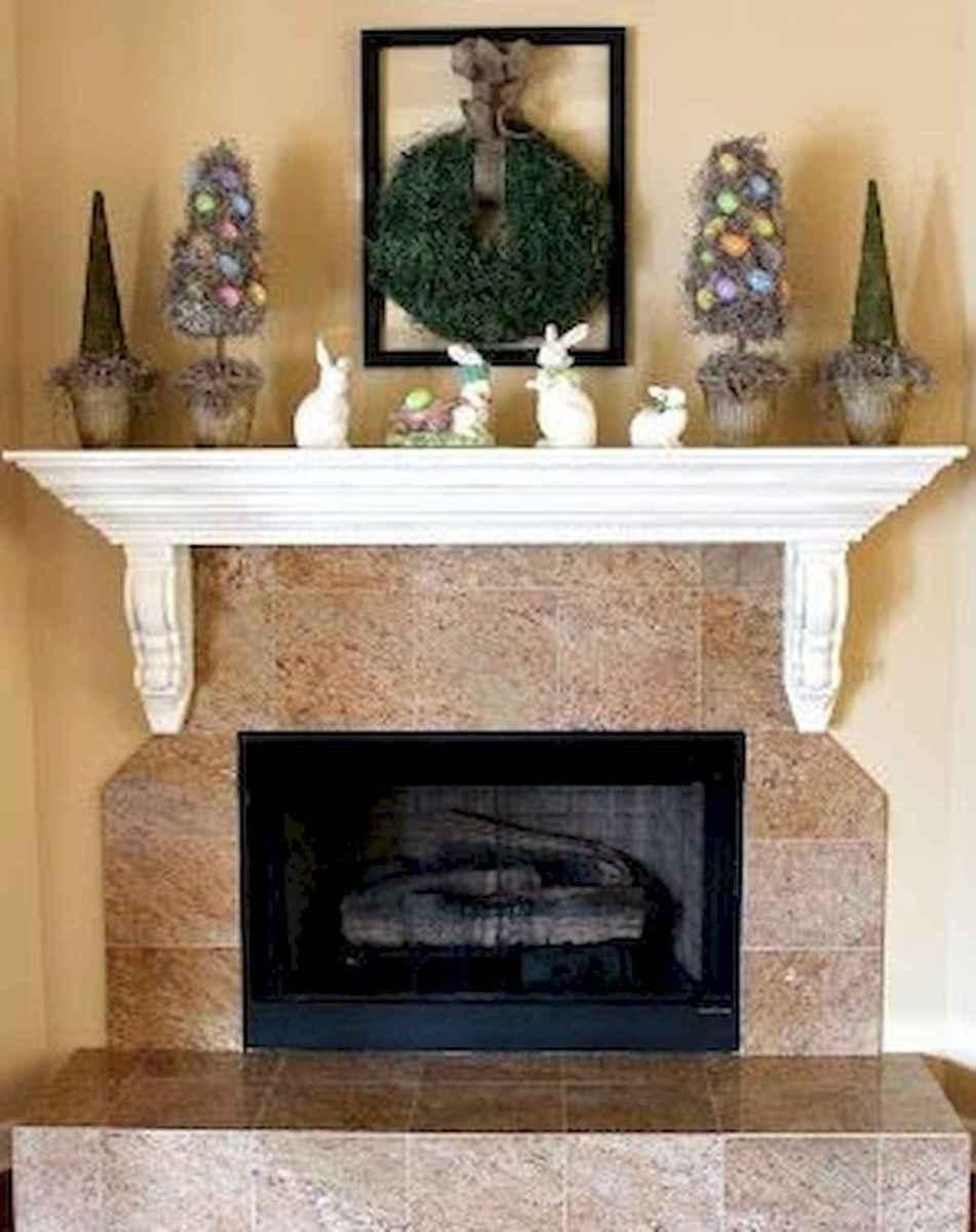 35 Best Easter Fireplace Mantle Decor Ideas (31)