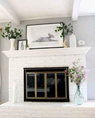35 Best Easter Fireplace Mantle Decor Ideas (33)