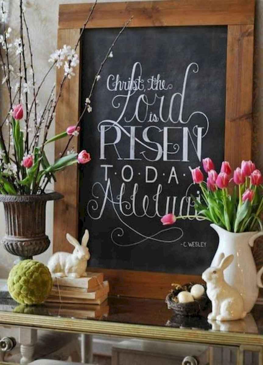 35 Best Easter Fireplace Mantle Decor Ideas (34)