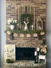 35 Best Easter Fireplace Mantle Decor Ideas (9)