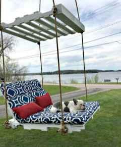 50 Amazing DIY Projects Pallet Swings Design Ideas (16)