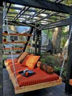 50 Amazing DIY Projects Pallet Swings Design Ideas (41)