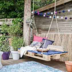 50 Amazing DIY Projects Pallet Swings Design Ideas (43)