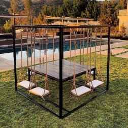 50 Amazing DIY Projects Pallet Swings Design Ideas (44)