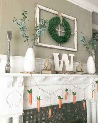 50 Beautiful Spring Mantle Decorating Ideas (13)