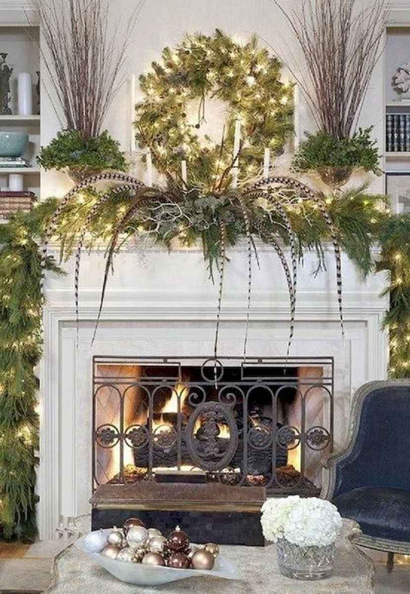 50 Beautiful Spring Mantle Decorating Ideas (32)