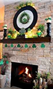 50 Beautiful Spring Mantle Decorating Ideas (33)