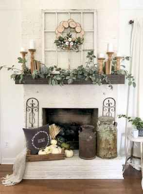 50 Beautiful Spring Mantle Decorating Ideas (38)