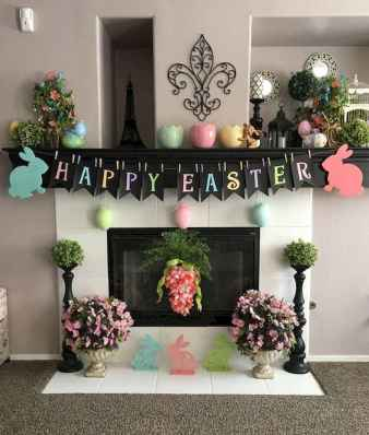 50 Beautiful Spring Mantle Decorating Ideas (39)