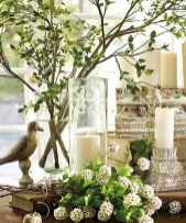 50 Beautiful Spring Mantle Decorating Ideas (46)