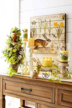 50 Beautiful Spring Mantle Decorating Ideas (53)