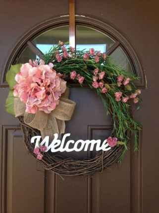 50 Beautiful Spring Wreaths Decor Ideas and Design (14)