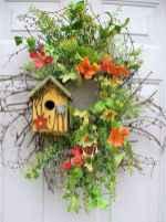 50 Beautiful Spring Wreaths Decor Ideas and Design (38)