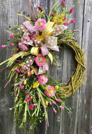 50 Beautiful Spring Wreaths Decor Ideas and Design (47)