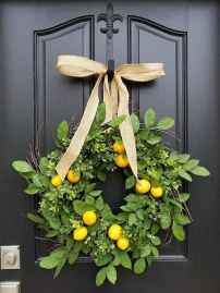 50 Beautiful Spring Wreaths Decor Ideas and Design (48)