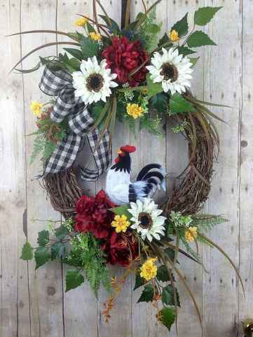 50 Beautiful Spring Wreaths Decor Ideas and Design (49)