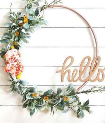 50 Beautiful Spring Wreaths Decor Ideas and Design (51)