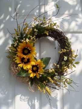 50 Beautiful Spring Wreaths Decor Ideas and Design (8)