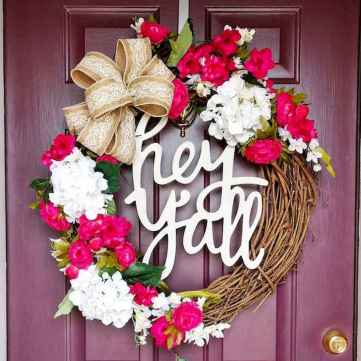 50 Beautiful Spring Wreaths Decor Ideas and Design (9)