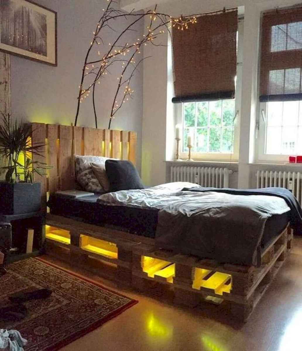 50 Creative Recycled DIY Projects Pallet Beds Design Ideas (14)