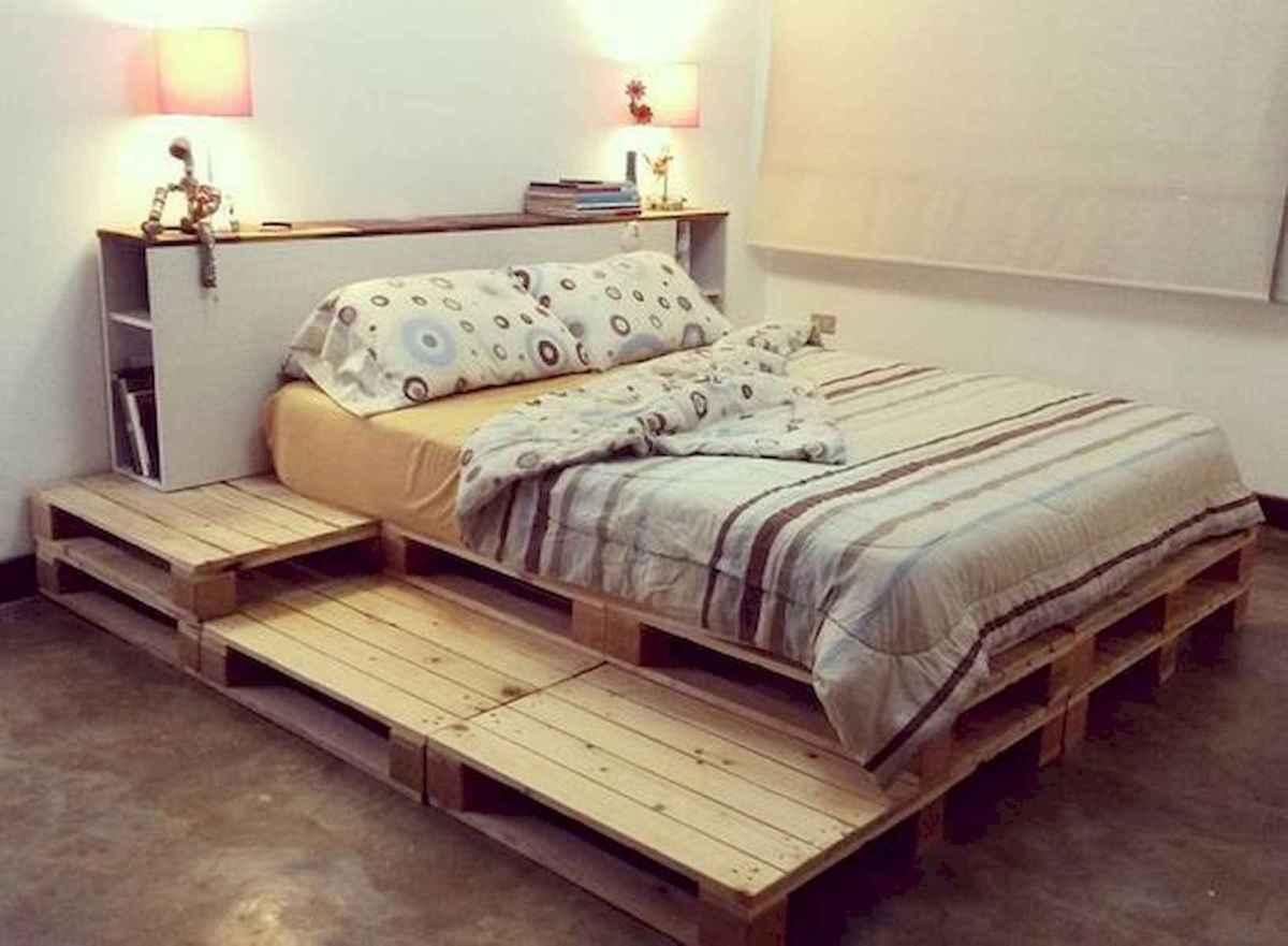 50 Creative Recycled DIY Projects Pallet Beds Design Ideas (26)