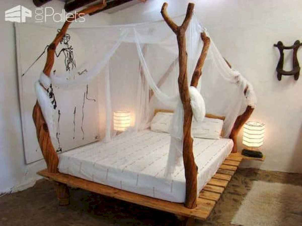50 Creative Recycled DIY Projects Pallet Beds Design Ideas (30)