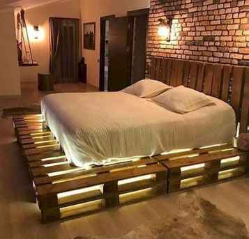 50 Creative Recycled DIY Projects Pallet Beds Design Ideas (39)