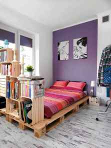 50 Creative Recycled DIY Projects Pallet Beds Design Ideas (43)