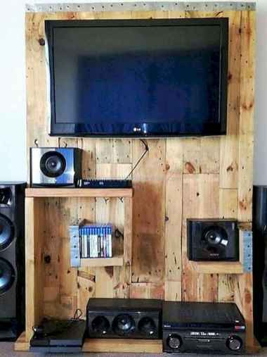 50 Favorite DIY Projects Pallet TV Stand Plans Design Ideas (10)
