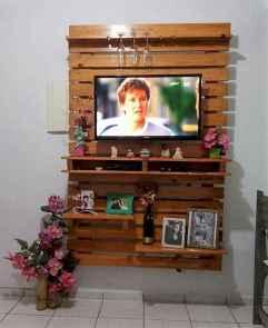 50 Favorite DIY Projects Pallet TV Stand Plans Design Ideas (22)