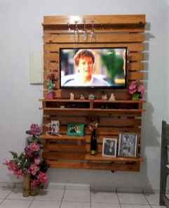 50 Favorite DIY Projects Pallet TV Stand Plans Design Ideas (22)
