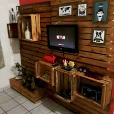 50 Favorite DIY Projects Pallet TV Stand Plans Design Ideas (36)