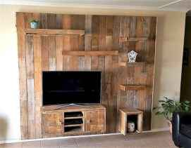 50 Favorite DIY Projects Pallet TV Stand Plans Design Ideas (45)