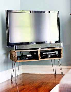 50 Favorite DIY Projects Pallet TV Stand Plans Design Ideas (47)