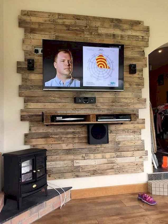 50 Favorite DIY Projects Pallet TV Stand Plans Design Ideas (49)