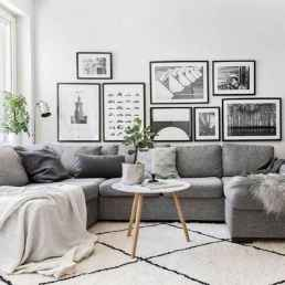 50+ Genius Small Living Room Decor Ideas And Remodel for Your First Apartment (29)